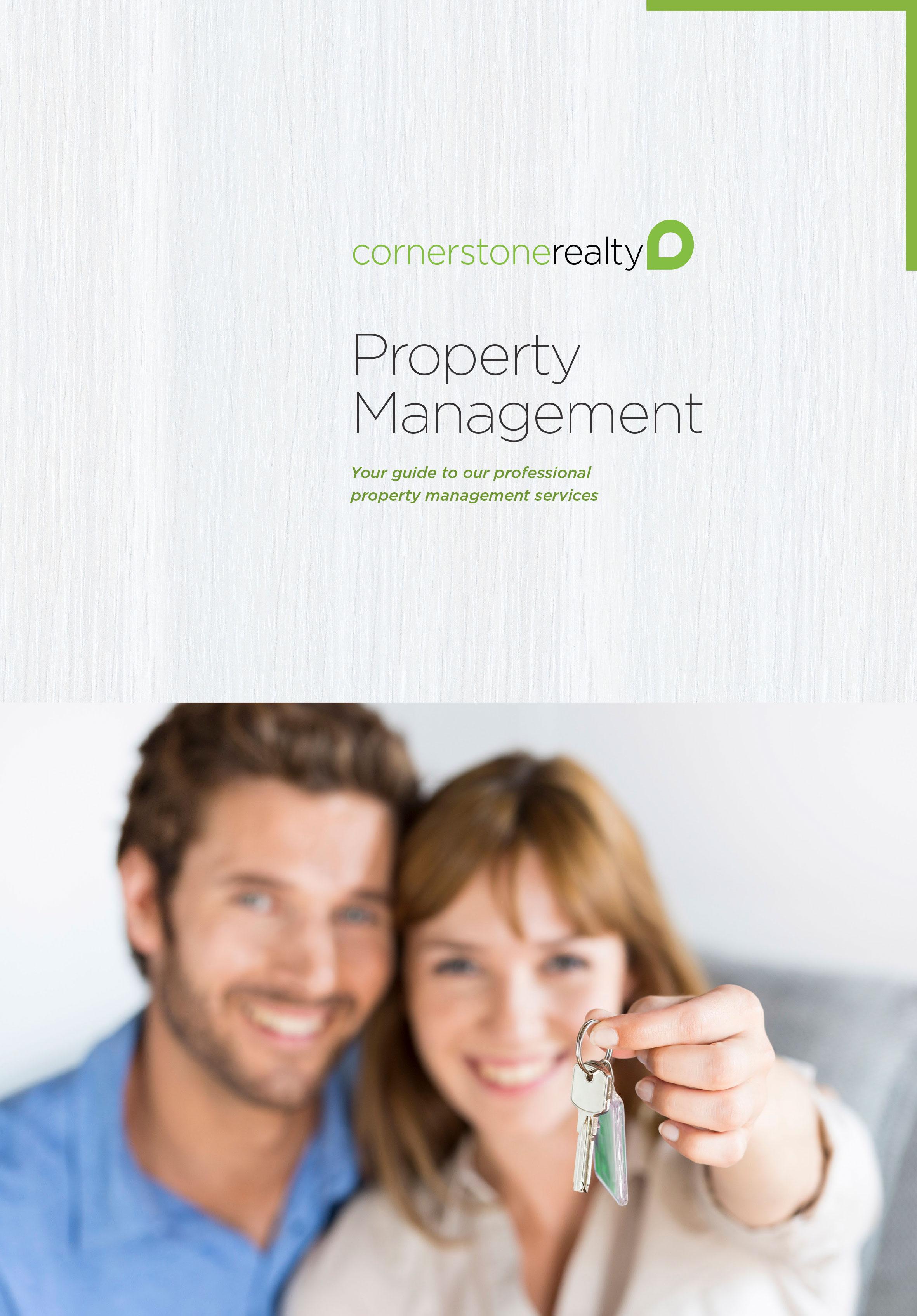 Property Management Brochure | Cornerstone Living