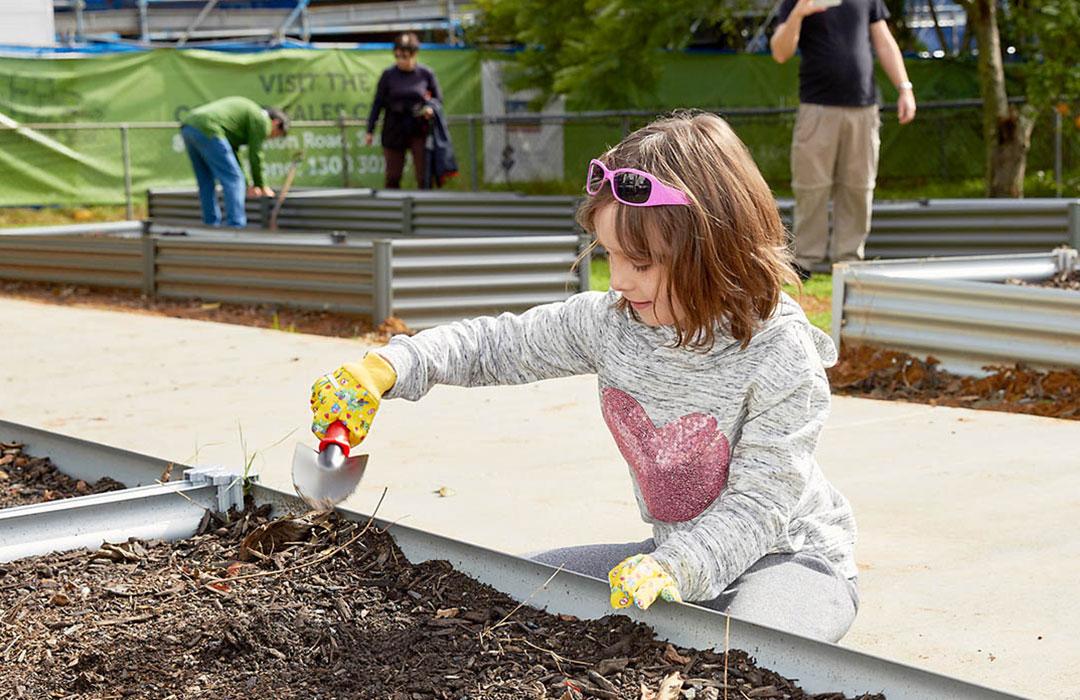 Corner Community Garden | Community Living