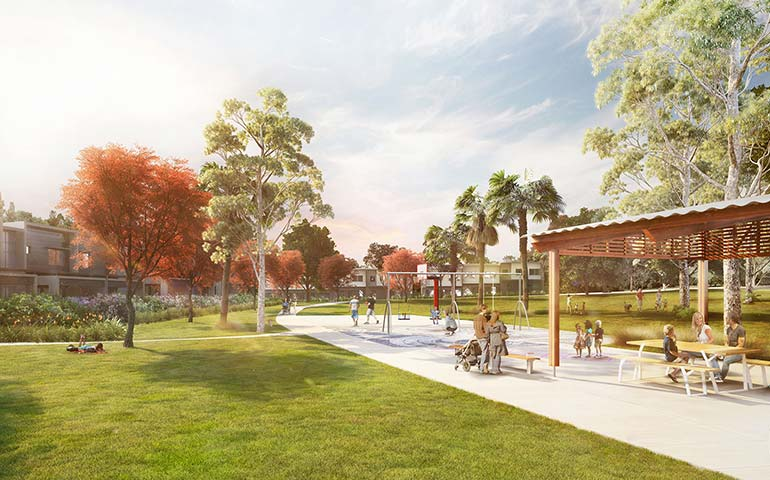 Our vision for the new community park.